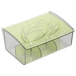 Zásobník na čajové sáčky myDRINK, zelená