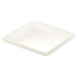 Mělký talíř CREMA, 27x27 cm