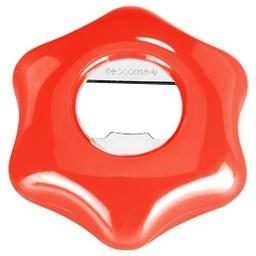 Otvírák na PET láhve a korunkové uzávěry Duopener PRESTO, červená