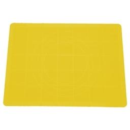 Vál na těsto silikonový DELÍCIA 48x38 cm, žlutá