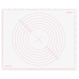 Vál silikonový DELÍCIA DECO 55x45 cm, bílá