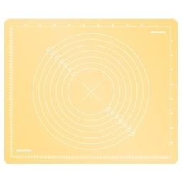 Vál silikonový DELÍCIA DECO 55x45 cm, žlutá