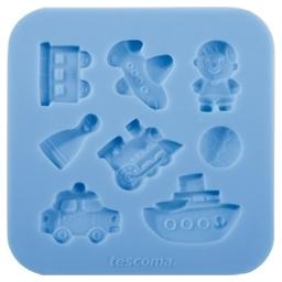 Silikonové formičky DELÍCIA DECO, pro kluky