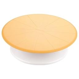 Otočný stojan na dort DELÍCIA DECO ¤ 29 cm, žlutá