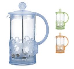 Konvice na čaj a kávu FIZZY, 1 l , barevný mix