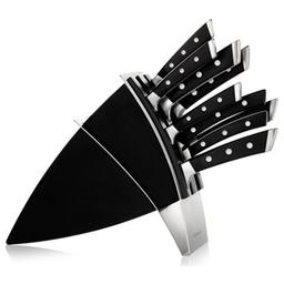 Blok na nože AZZA, se 7 noži a nůžkami na drůbež