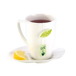 Hrnek na čaj s podšálkem YASMIN