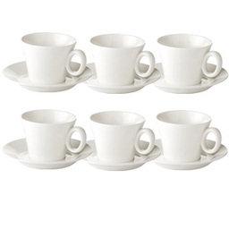 Výhodný balíček: Šálek na cappuccino ALLEGRO s podšálkem, 6 ks