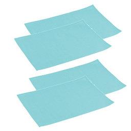 Výhodný balíček: Prostírání na stůl FLAIR LITE 45x32 cm, azurová, 4 ks