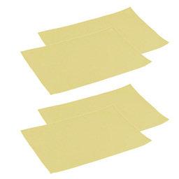 Výhodný balíček: Prostírání na stůl FLAIR LITE 45x32 cm, lososová, 4 ks