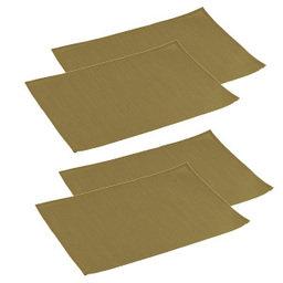 Výhodný balíček: Prostírání na stůl FLAIR 45x32 cm, olivová, 4 ks