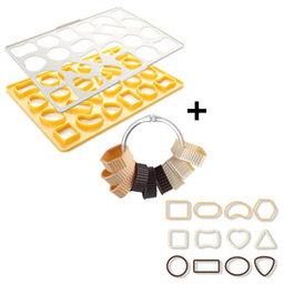 Výhodný balíček: Vykrajovací forma na sušenky plus vykrajovátka sušenky Delícia