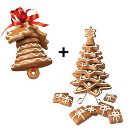 Výhodný balíček: Vánoční zvoneček plus Vánoční stromeček