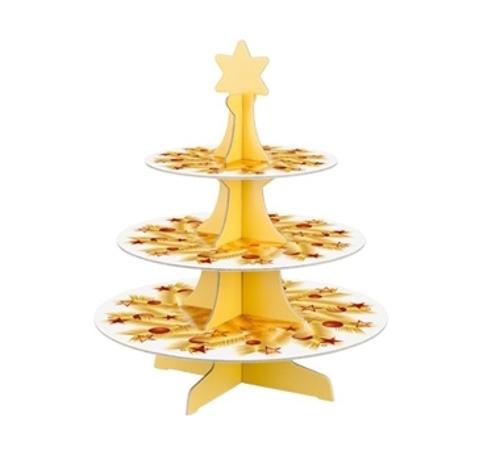 Etažérka s vánočními motivy DELÍCIA