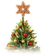 Vánoční hvězda Delícia - souprava vykrajovátek