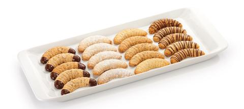 silikonová forma na vanilkové rohlíčky Delícia